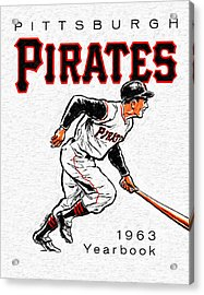 Pittsburgh Pirates 1963 Yearbook Acrylic Print by Big 88 Artworks