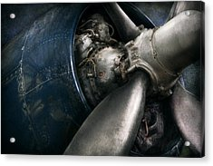 Plane - Pilot - Prop - You Are Clear To Go Acrylic Print by Mike Savad