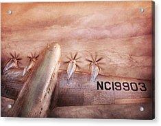 Plane - Pilot - Tropical Getaway Acrylic Print by Mike Savad