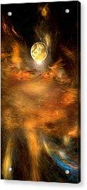 Planet One Acrylic Print by Daniel Mowry