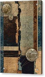 Planetary Shift #1 Acrylic Print by Carol Leigh