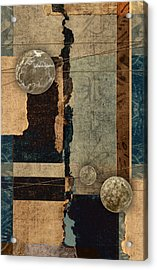 Planetary Shift #2 Acrylic Print by Carol Leigh
