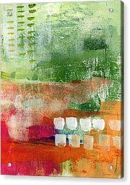 Plantation- Abstract Art Acrylic Print by Linda Woods