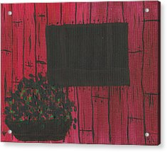 Planter Acrylic Print by Keith Nichols
