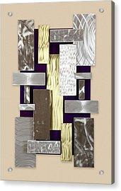 Plates Acrylic Print by Rick Roth