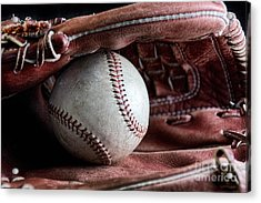 Play Ball Acrylic Print by Peggy Hughes