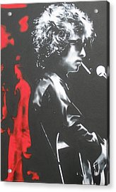 Play It Fuckin' Loud Acrylic Print by Luis Ludzska