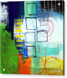 Playground Acrylic Print by Linda Woods