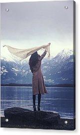 Playing With Wind Acrylic Print by Joana Kruse