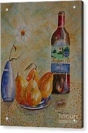 Pleasant Hill Winery Acrylic Print by Tamyra Crossley
