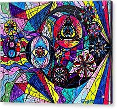 Pleiades Acrylic Print by Teal Eye  Print Store