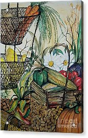 Plentiful Harvest Acrylic Print by Laneea Tolley