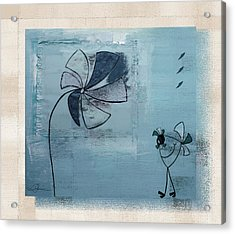 Plouk - J058046082bg Acrylic Print by Variance Collections