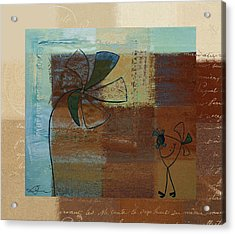 Plouk - J128121046w1d Acrylic Print by Variance Collections