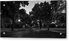 Plum Street To Franklin Square Acrylic Print by Everet Regal