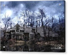 Plunkett Mansion Acrylic Print by Tom Straub