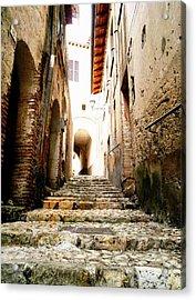 Poggio Catino Italy Acrylic Print by Giuseppe Epifani