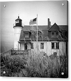 Point Betsie Lighthouse II Acrylic Print by Jeff Burton