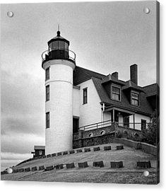 Point Betsie Lighthouse Acrylic Print by Jeff Burton