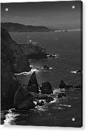 Point Bonita Light Acrylic Print by Mike McGlothlen