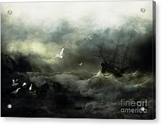 Point Danger Acrylic Print by Shanina Conway