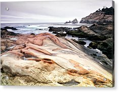 Point Lobos State Park Acrylic Print by Chris Frost