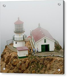 Point Reyes Lighthouse Acrylic Print by Art Block Collections