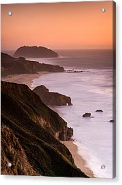Point Sur Lighthouse Acrylic Print by Alexis Birkill