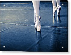Pointe Acrylic Print by Laura Fasulo