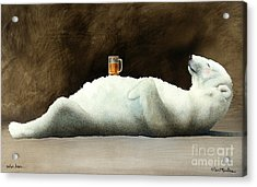 Polar Beer... Acrylic Print by Will Bullas