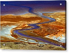 Pollution Acrylic Print by James Brunker