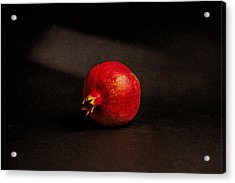 Pomegranate Acrylic Print by Peter Tellone