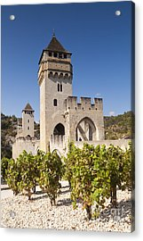 Pont Valentre Cahors Midi-pyrenees France Acrylic Print by Colin and Linda McKie