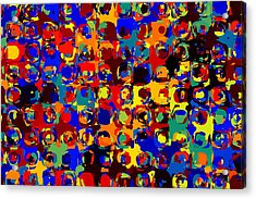 Pop Colors 14 Acrylic Print by Craig Gordon