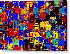 Pop Colors 15 Acrylic Print by Craig Gordon
