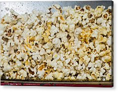 Popcorn 2 - Featured 3 Acrylic Print by Alexander Senin