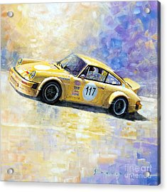 Porsche 911 S Typ G Josef Michl Acrylic Print by Yuriy Shevchuk