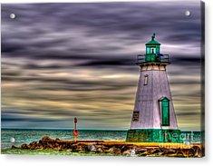 Port Dalhousie Lighthouse Acrylic Print by Jerry Fornarotto