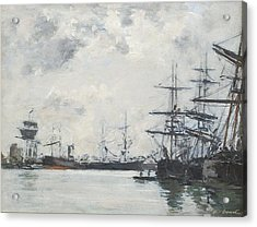 Port De Mer Un Bassin Acrylic Print by Celestial Images