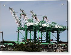 Port Of Oakland 5d22265 Acrylic Print by Wingsdomain Art and Photography