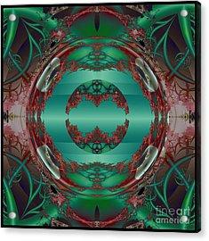 Portal / Escape Hatch  Acrylic Print by Elizabeth McTaggart