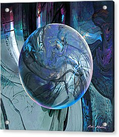 Portal To Divinity Acrylic Print by Robin Moline