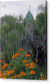 Porte Saint-louis In Quebec City Acrylic Print by Juergen Roth
