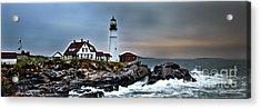 Portland Head Lighthouse 1 Acrylic Print by Glenn Gordon