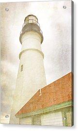 Portland Head Lighthouse Maine Acrylic Print by Carol Leigh