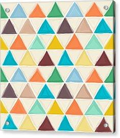 Portland Triangles Acrylic Print by Sharon Turner