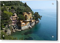 Portofino Acrylic Print by Jaroslaw Blaminsky