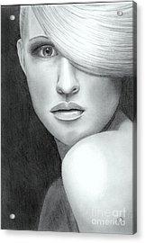 Portrait Acrylic Print by Nicola Butt