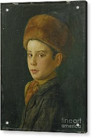 Portrait Of A Boy Acrylic Print by Celestial Images