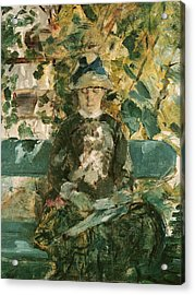 Portrait Of Adele Tapie De Celeyran Acrylic Print by Henri de Toulouse-Lautrec